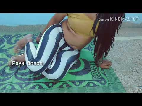 Hot Indian Actresses Dancing In Stripe Leggings