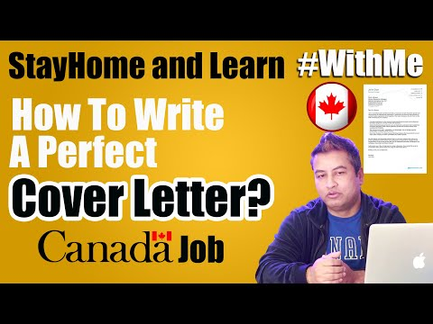 Want A Job In Canada? Write Perfect Cover Letter First.