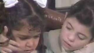 Carrossel - momento dramático com Laura e música triste