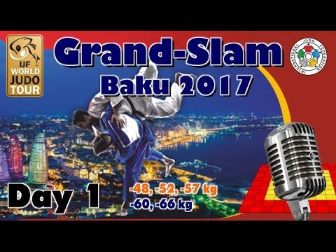 Judo Grand-Slam Baku 2017: Day 1