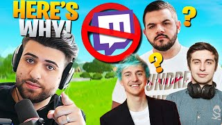 The REAL Reason Streamers Are LEAVING Twitch! (Courage, Ninja, Shroud) - Fortnite Battle Royale