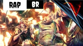 Rap dos Artistas /Sasori e Deidara/ (Naruto) - Rap união 01 |Vampirapper| Ft Kira Flow