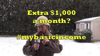 #mybasicincome - What Colt would do with an extra $1,000 a month.