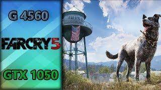 Far Cry 5 (GTX 1050 2GB + Pentium G4560) 1080p, 900p e 768p | Gameplay Benchmarks