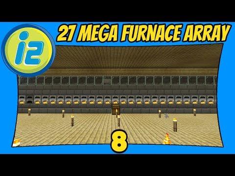 Mega Furnace Array | 8 | Infiniverse 2.0 [Minecraft Bedrock Edition] [MCPE]