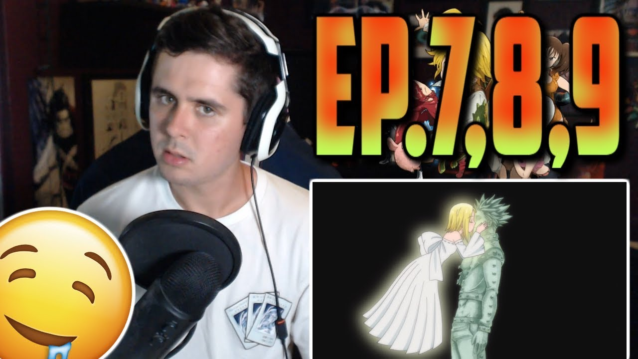 """Download """"BAN IS SICK"""" Seven Deadly Sins Ep.7,8,9 Live Reaction!"""
