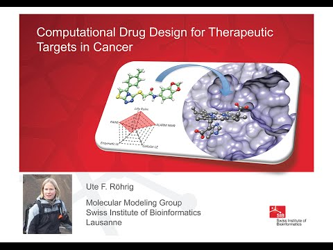 Ute Roehrig: Computational Drug Design for Therapeutic Targets in Cancer