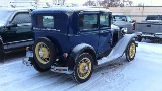 Cold Start - 1930 Model A Ford