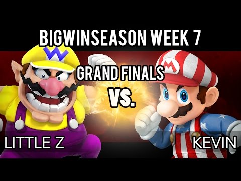 BigWinSeason Week 7 - Grand Finals - Little Z (Wario) VS Kevin (Mario)