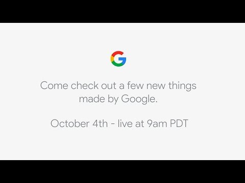 Watch Google unveil the Pixel 2 live right here