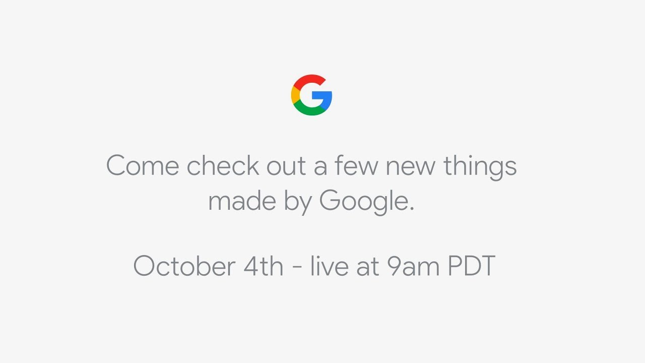 Google Pixel 4 event to take place on 15 October?