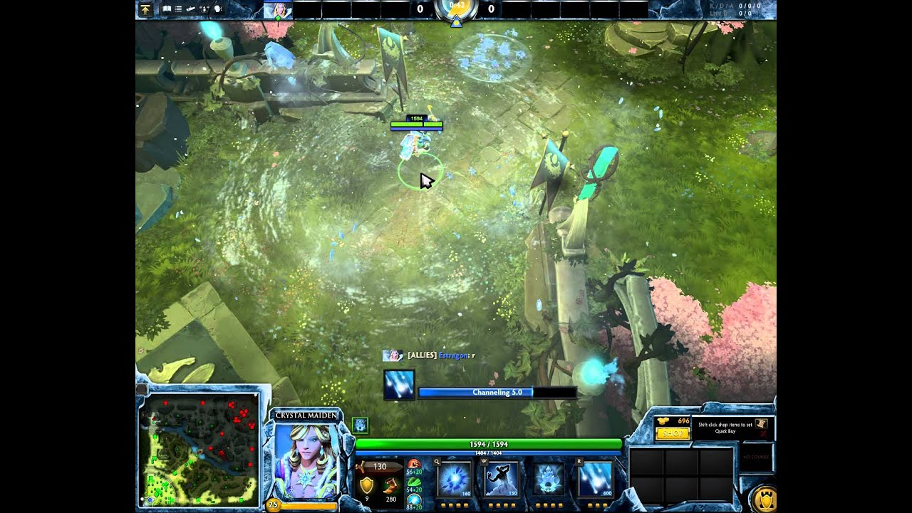 crystal maiden soundmod dota 2 let it go from frozen youtube