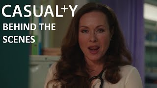 Casualty Winter Trailer BTS 2015