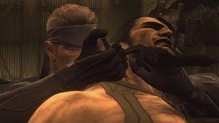 Metal Gear Solid 4: Guns of the Patriots - Gameplay Walkthrough Part 34 - Vamp Boss Fight