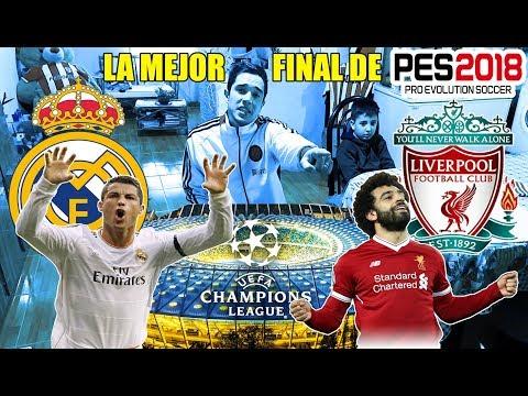 Real Madrid vs Liverpool - GAMEPLAY PES 2018 - FINAL IMPRESIONANTE...!!