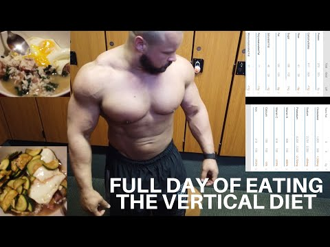 FULL DAY OF EATING THE VERTICAL DIET LEAN BULKING thumbnail