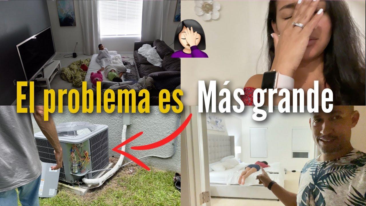 TODAVÍA SEGUIMOS SIN AIRE EN LA CASA 🥵 | Familia Jaquez