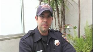 Firefighters volunteer to be the match