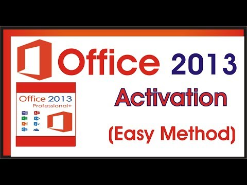 How To Activate Microsoft Office 2013 With Easy Method In Hindi