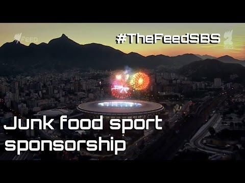 Junk food sport sponsorship - The Feed