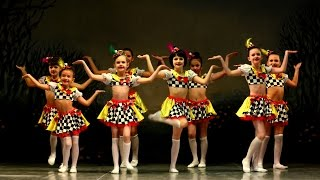 Детский коллектив современного танца Эдванс (Advance).Начинающие. - Чайная вечеринка