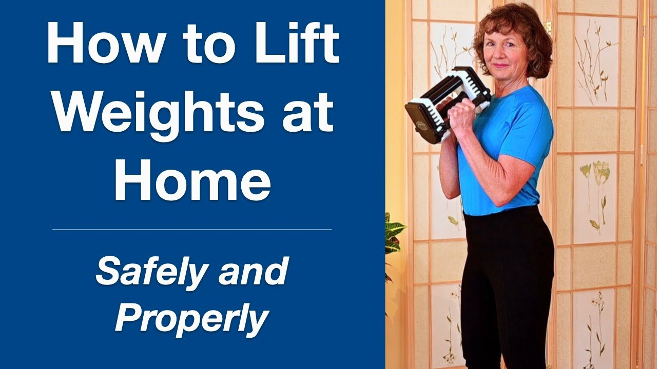How to Lift Weights at Home