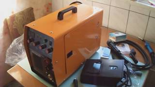 Обзор: Сварочный полуавтомат KAISER MIG-265