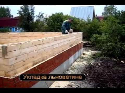 Дом из бруса. Строительство смотреть видео онлайн
