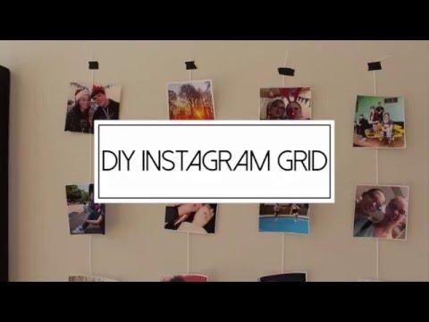 DIY Instagram Grid