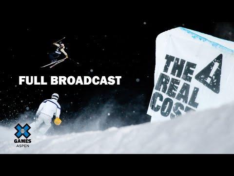 Women's Ski Big Air: FULL BROADCAST | X Games Aspen 2020