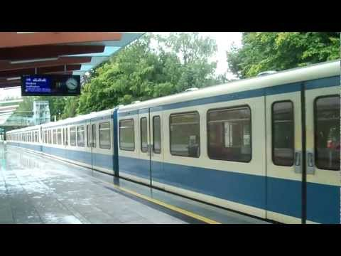 Munich u-bahn (subway)...