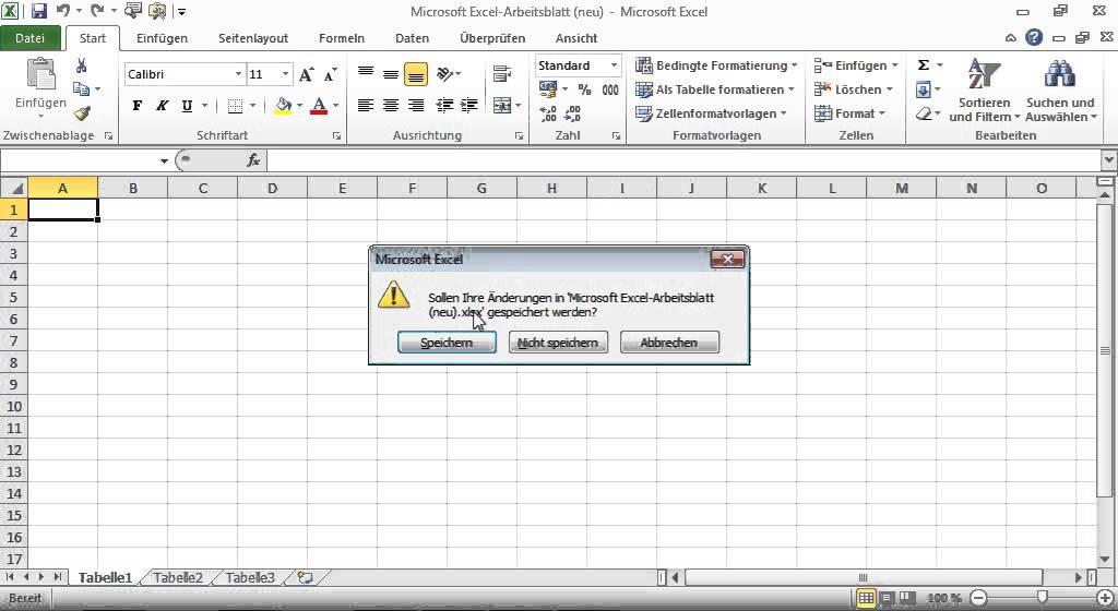1ES_Excel Arbeitsmappe mit Makros erstellen. Excel VBA ...