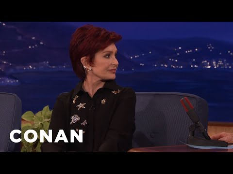 Sharon Osbourne: Trump Doesn't Really Want To Be President  - CONAN on TBS