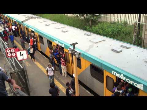 Mlazi train to Durban