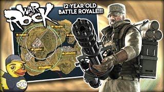 12 Year Old Battle Royale!!! - WarRock