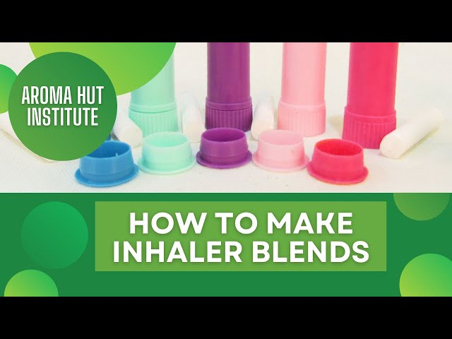 How to Make Inhaler With Essential Oils for Anxiety and Stuffy Nose