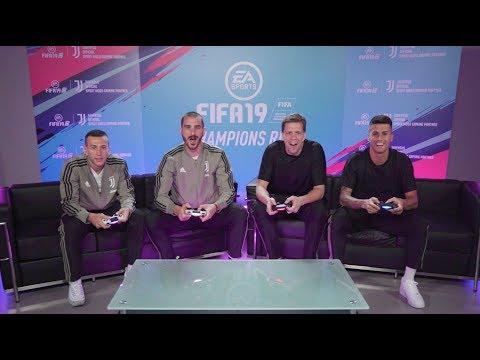 FIFA 19 World Tour  - Juventus FC Player Tournament – ft . Bonucci, Szczęsny, Bernadeschi, Cancelo