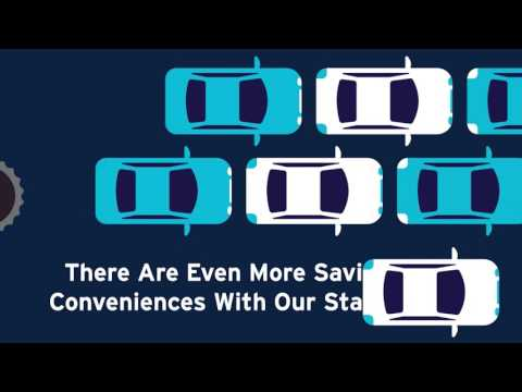 Park 'N Fly Frequent Parker Program motion graphics animation