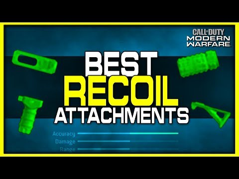 Best Attachments for Recoil Reduction in Modern Warfare!