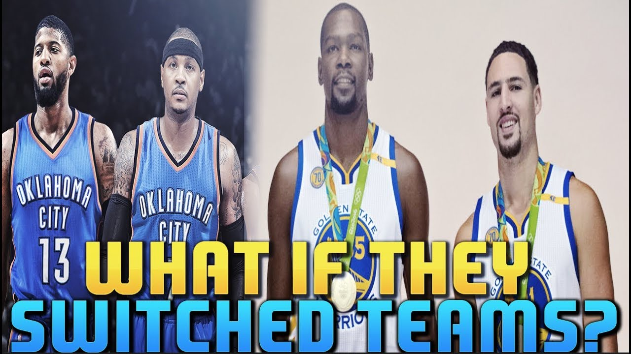WHAT IF Melo & PG Switched Teams With Durant & Klay?