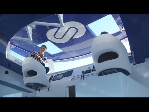 Energy Observer, le premier catamaran propulsé à l'hydrogène