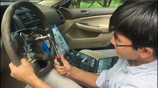 How To Remove Stubborn or Stuck Steering Wheel | DIY Auto Repair Guide By Young Mechanic Aiman