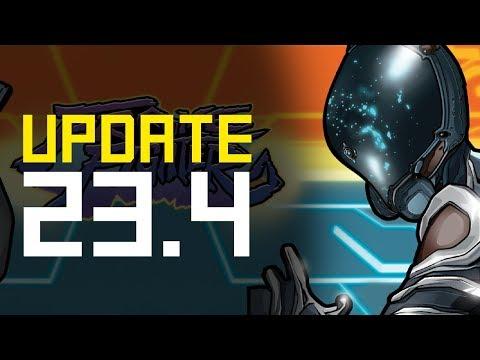 Frame Fighter Live, New Amp Parts, Amp Stat Changes & Dojo Decor! Update 23.4 (Warframe)
