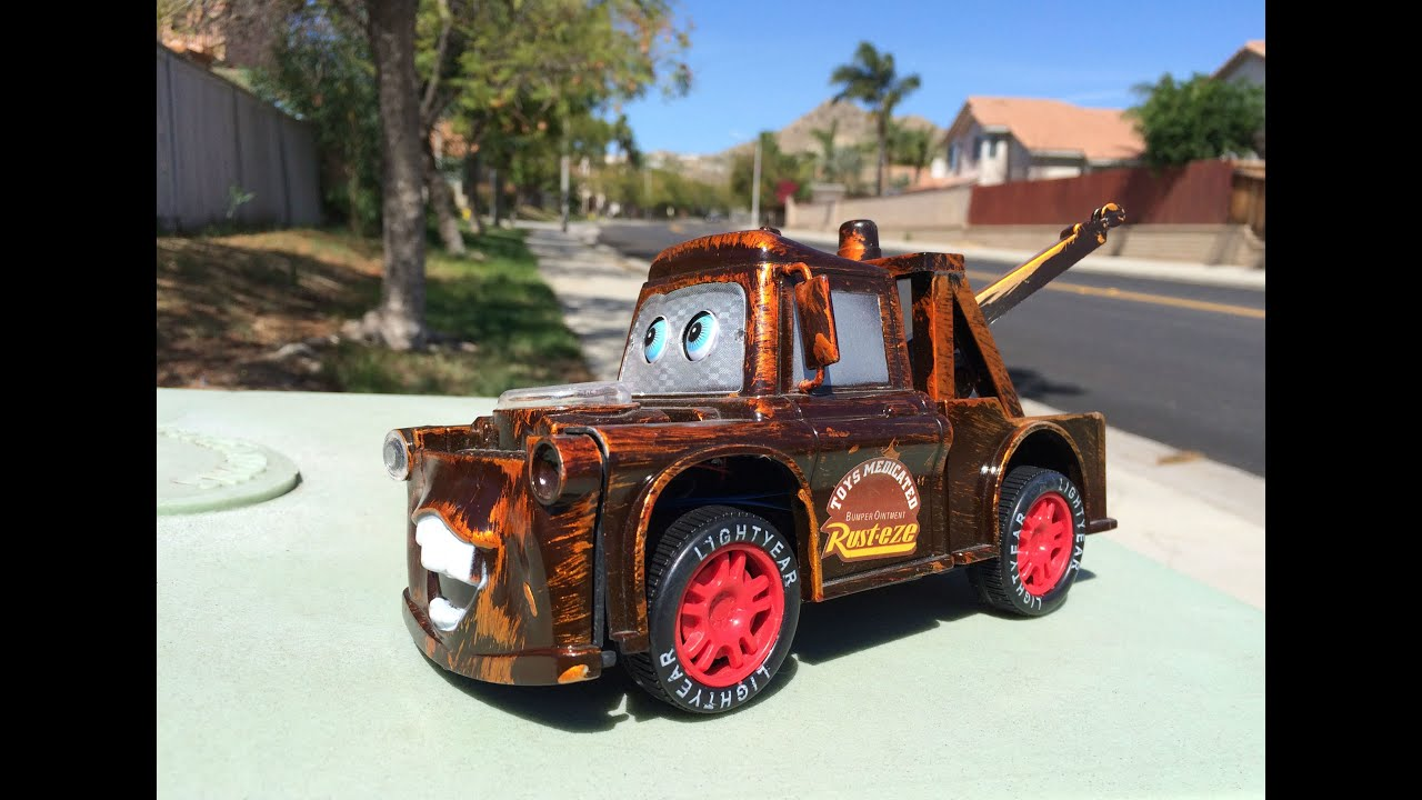 Disney Cars Toys Red Mater Lightning McQueen And Thomas And Friends Toy Tra