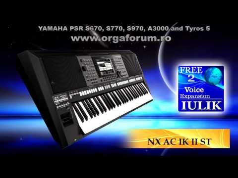 DEMO PACK IULIK FREE 2 for YAMAHA PSR and Tyros 5