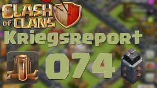 """COC [Kriegsreport #074] """"Maxed Earthquake im CW"""" 