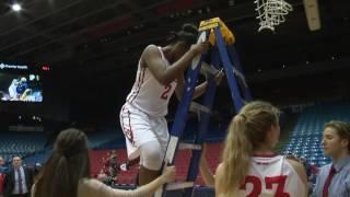 Dayton Women's Basketball: Cut the Nets!