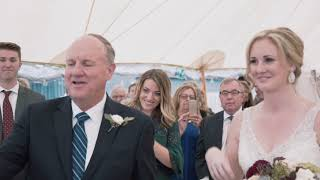 Karen + Matt Horner Modern Wedding Video | Ottawa Wedding Videography shot with an A7S ii