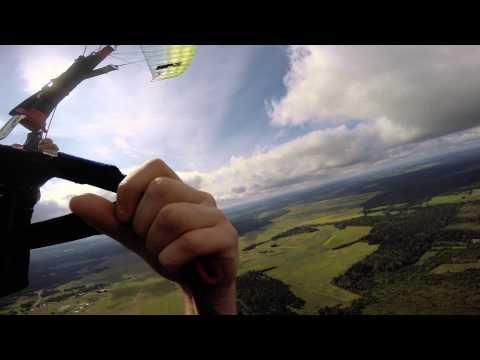Paragliding at Kuusiku lennuväli Rapla, Estonia (4K GoPro export)