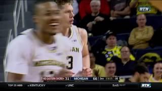 Moritz Wagner Steal and Slam Dunk vs. Maryland-Eastern Shore